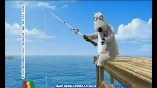 Bernard The Funny Bear - Fishing