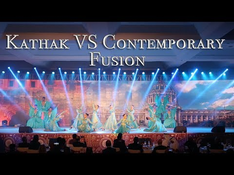 Kathak Vs Contemporary Fusion by Zenith Dance Troupe | International Energy Forum