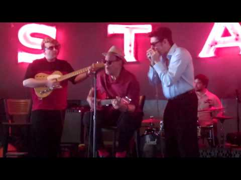 Louisiana Red, Little Victor and Bob Corritore at Alfred's on Beale
