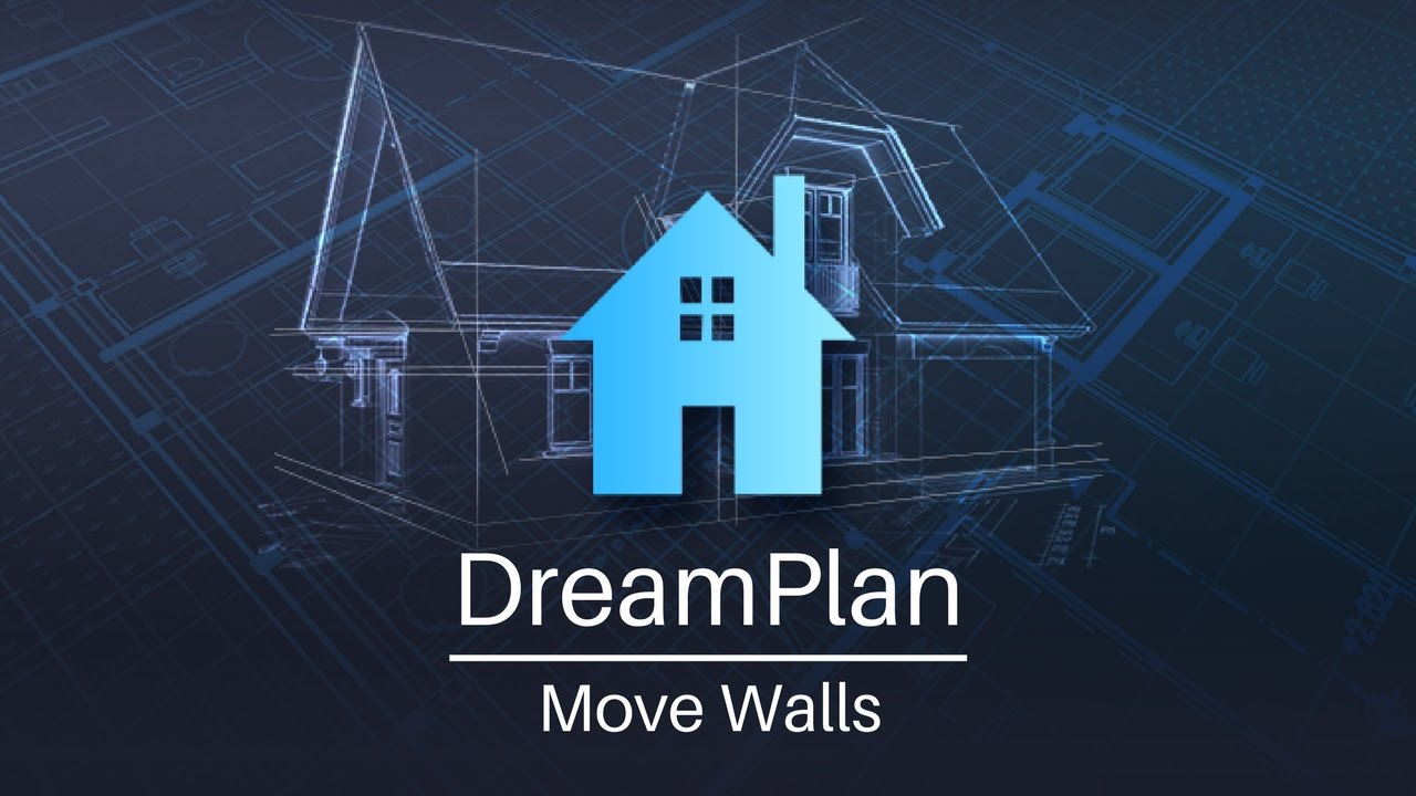 DreamPlan Home Design | Move Walls Tutorial - YouTube on