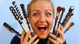 HARRY POTTER WAND MAKING PARTY!