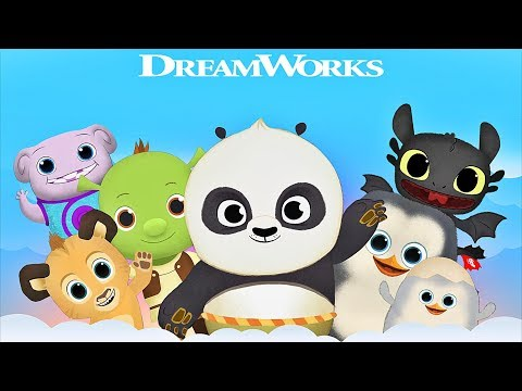 Dreamworks Friends Morning Routine 🐼 Game App For Kids With Shrek, Po & Toothless