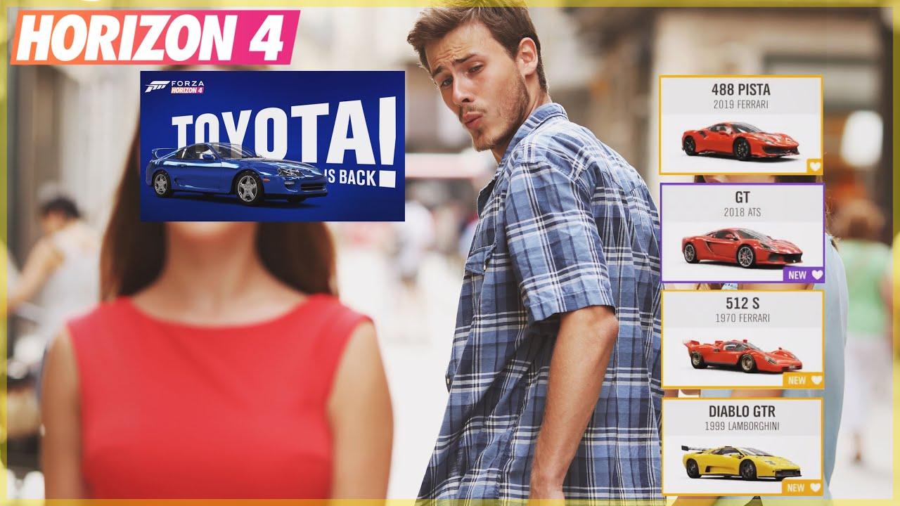 Forza Horizon 4 | Update 16 Cars & Supra Announcement! thumbnail