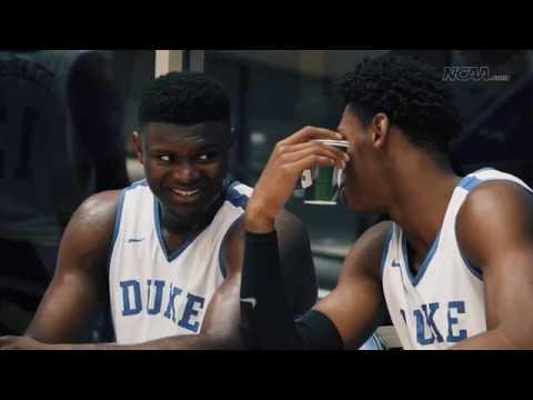 Zion Williamson, RJ Barrett pull back curtain on Duke, NBA Draft and arm size