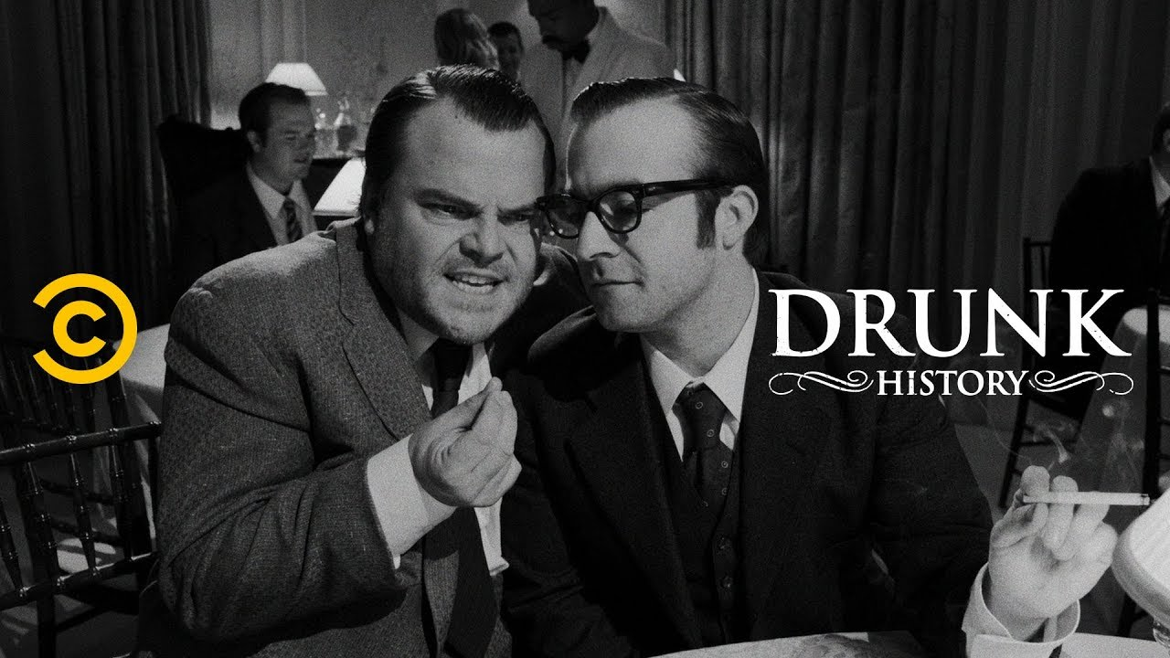 """Citizen Kane"" Sparks a Hollywood Feud (feat. Jack Black & John Lithgow) - Drunk History"