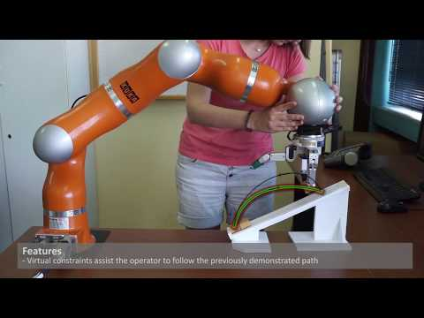 Towards progressive automation of repetitive tasks through physical human-robot interaction
