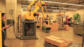Cool Stuff at Dunwoody: Automated Systems & Robotics (ASRO) program--Fanuc Robot M-410 i
