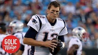 Tom Brady cuts off interview over Alex Guerrero questions | Golic & Wingo | ESPN