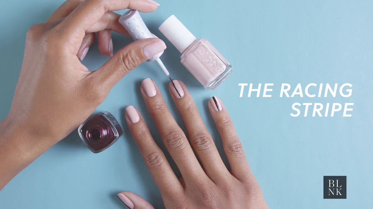 3 Essie Nail Art Ideas That Are Too Easy Not To Try Yourself