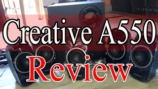 Creative A550 Speakers Review and Steps to set up Your speakers....