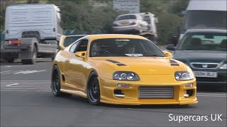 TOYOTA SUPRA NIGHT AT ACE CAFE
