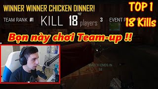 PUBG TOP 1 Shroud Solo gp 2 Thanh Nin Team Up ly Vector sy dnh Chicken Dinner