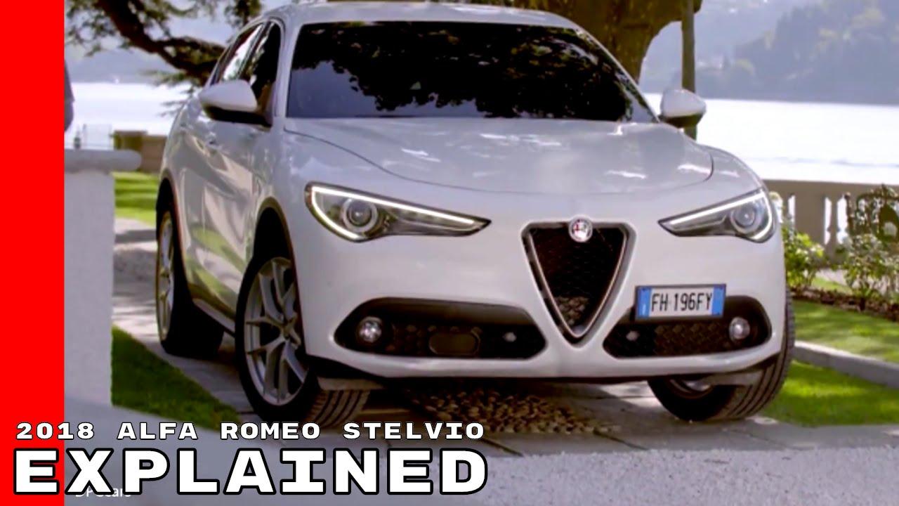 2018 Alfa Romeo Stelvio Explained Youtube