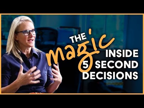 THE LIFE-CHANGING MAGIC OF 5 SECOND DECISIONS | MEL ROBBINS