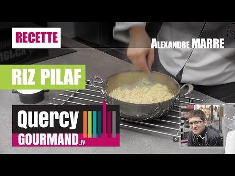 Recette : Le Riz PILAF (PILAW) – quercygourmand.tv