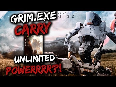 Paragon Grim.EXE Gameplay - +440 POWER & 384 ATTACK SPEED