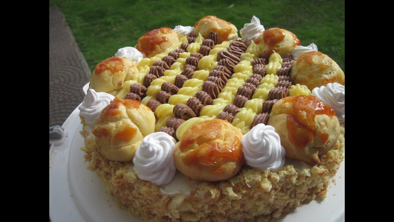 Torta saint honor youtube for Isola di saint honore caraibi