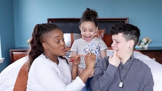 The Birds and the Bees | Two Moms Explain, Daughter Has Hilarious Reaction