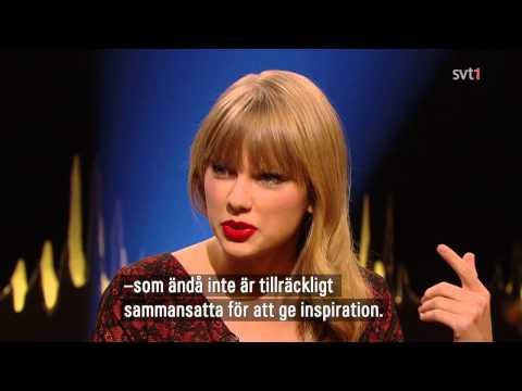 Taylor Swift - Interview on Skavlan