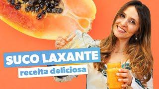 LAXANTE NATURAL - Receita fácil, rápida e deliciosa
