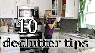 10 Clever Ways to Declutter Your Home - Decluttering and Organizing