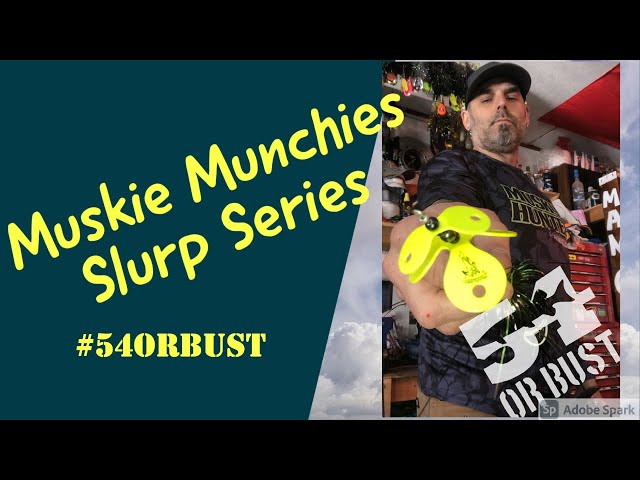 Musky Lures 101: Muskie Munchies Slurp series ( my favourite bucktail for beginners)
