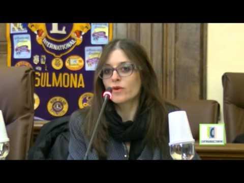 LIONS CLUB SULMONA PREMIAZIONE ANNALISA DI RUSCIO