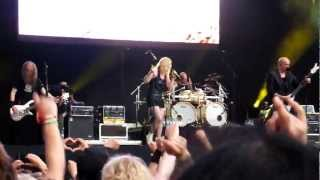 Devin Townsend Project & Anneke van Giersbergen - Pixillate (Live, 23.07.2011)