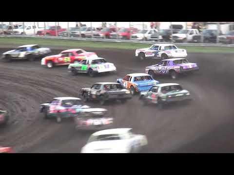 IMCA Hobby Stock Season Championship feature Benton County Speedway 8/11/19