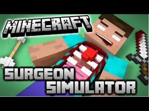 Minecraft Surgon Simulator |Herobrine's Operation