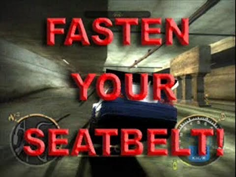 Need for Speed: Most Wanted - FASTEN YOUR SEATBELT!