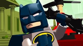 LEGO Mighty Micros/ЛЕГО Поймай Злодея.Устраиваем Погоню за Героями Комиксов .Мультик Игра
