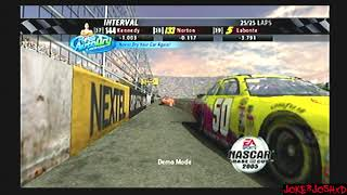 Over an hour of Demo Races for NASCAR 2005 Chase for the Cup