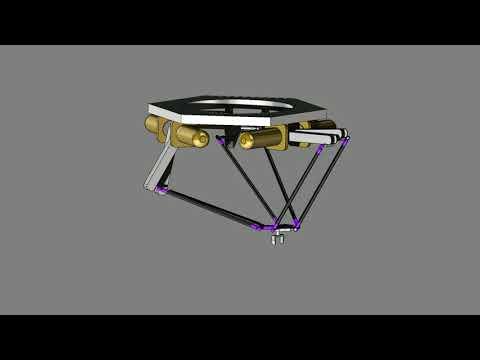 Delta Robot Animation - Daniel Hein
