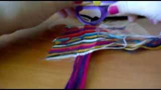 Как плести фенечки) Видеоурок №1)