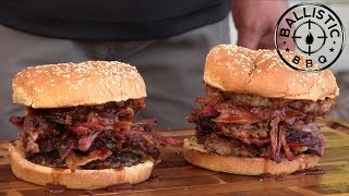 BBQ Pitmaster Burger With Harry Soo!