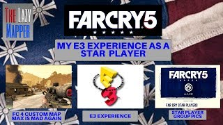 """E3 STAR PLAYER / FAR CRY 5 /Far Cry 4 MAP """"MAX IS MAD AGAIN"""" Game play"""