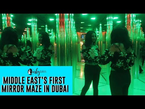 Make Your Way Out Of This Mirror-Maze At Dubai Dolphinarium | Curly Tales