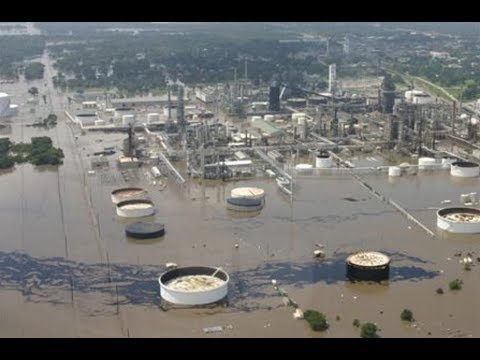 Chemical Plant Flooded in Houston Could Explode at Any Moment & Nothing Can Be Done!