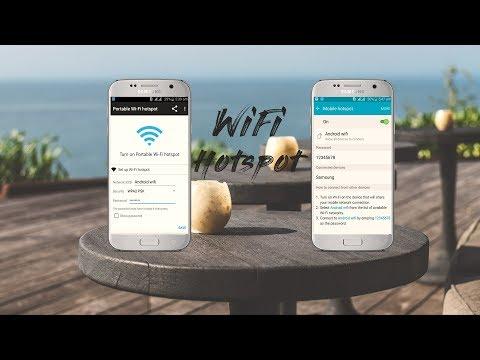Portable WiFi Hotspot / Default WiFi Hotspot