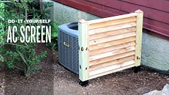 How to Hide an Air Conditioner Unit
