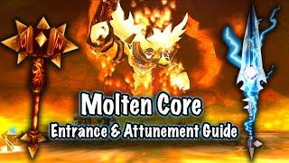 Jessiehealz - Molten C๐re Entrance & Attunement Guide (Fast Method BfA)