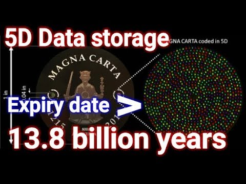 5d Data Storage Save Your For Eternity