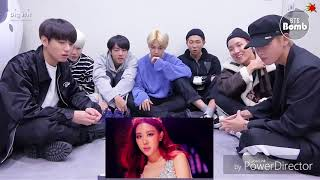 BTS Reaction BlackPink(DU-DDU DU-DUU)