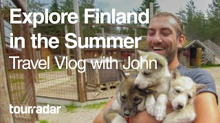 Explore Finland in the Summer: Travel Vlog with John