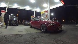 Nitrous Civic vs GTR