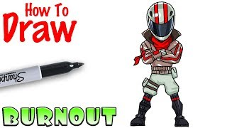 How to Draw Burnout | Fortnite