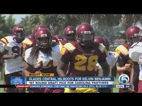 Glades Central High School Roots for Kelvin Benjamin