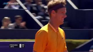Terrific Nicolas Jarry Winners In Defeat To Medvedev | Barcelona Open 2019