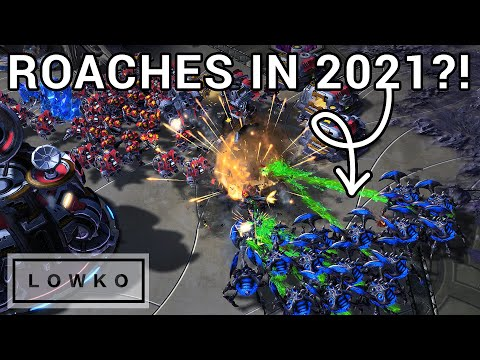 StarCraft 2: Bly's CRAZY Roach Builds! (Best-of-3)